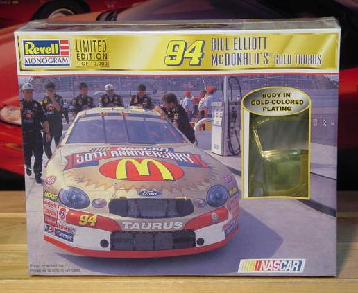#94 McDonalds Gold Bill Elliott Revell Kit Sealed